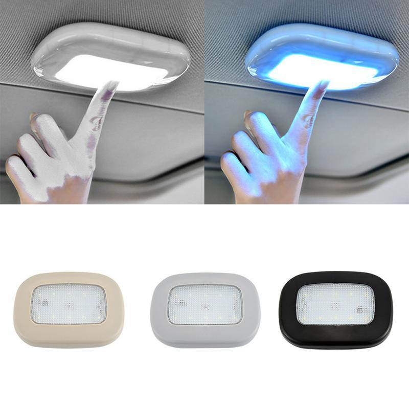 Ímã para teto interno automotivo, luz de leitura automotiva, usb, para carregamento, dia automático, drl, domo, veículo, para teto