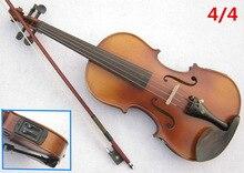 Un ensemble de violon électrique épicéa 4/4 violon artisanat violino Instruments de musique avec pick-up violon colophane étui violon arc