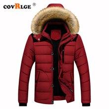 Covrlge hiver épais hommes Parka fourrure à capuche marque 2019 nouveau Parka manteau hommes bas garder au chaud mode Plus asiatique taille M-4XL 5XL MWM076