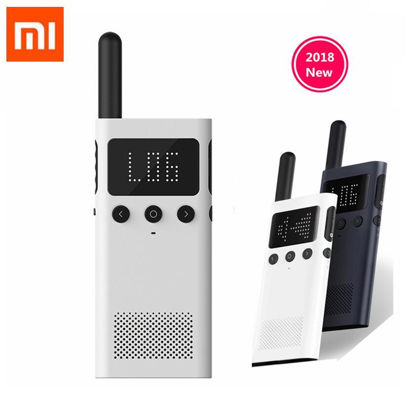 Обновленная версия Xiaomi Mijia Smart Walkie Talkie 1S с fm-радио спикером, приложение для работы в режиме ожидания с мобильным телефоном