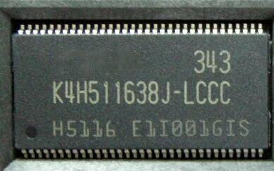 10 pçs/lote K4H511638J-LCCC K4H511638 K4H511638J TSOP-54 ORIGINAL NOVO