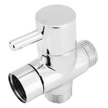 Mayitr Bidet de toilette en laiton chromé   Adaptateur en T G1/2