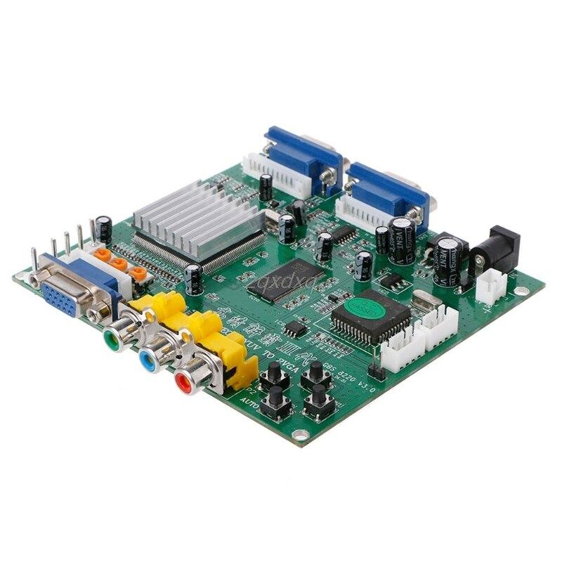 Arcade Game RGB/CGA/EGA/YUV To Dual VGA HD Video Converter Adapter Board GBS-8220 Oct30 Drop ship