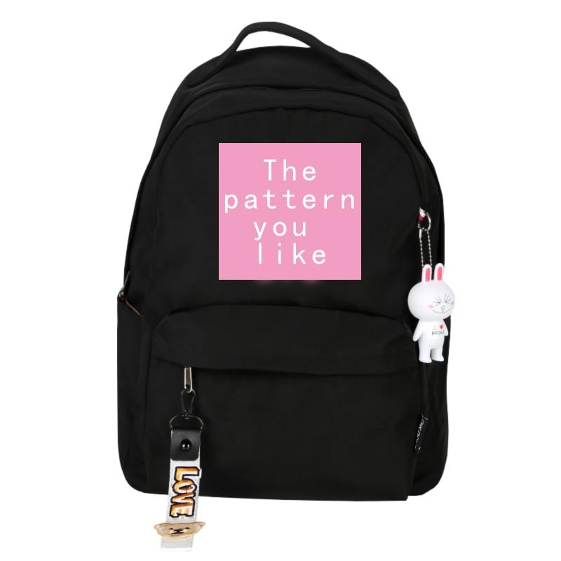 Mochila de estrellas de moda coreana, bolsa de viaje para chicas adolescentes, mochila Kawaii, bonita mochila para mujeres