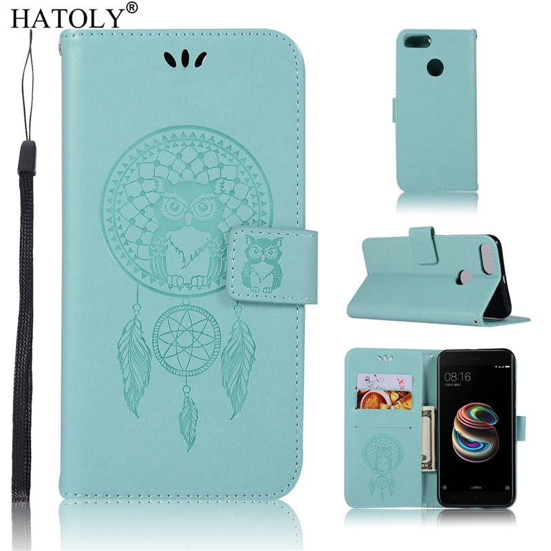 For Cover Xiaomi Mi A1 Case PU Leather Flip Wallet Cover For Xiaomi Mi A1 Silicone Card Holder Phone