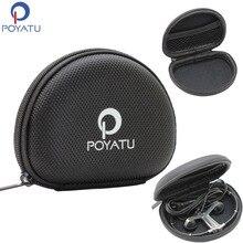 POYATU étui pour écouteurs Portable pour B & O PLAY By Bang & Olufsen Beoplay H5 E4 H3 A8 oreillettes 3i casques découte étui rigide à fermeture à glissière EVA