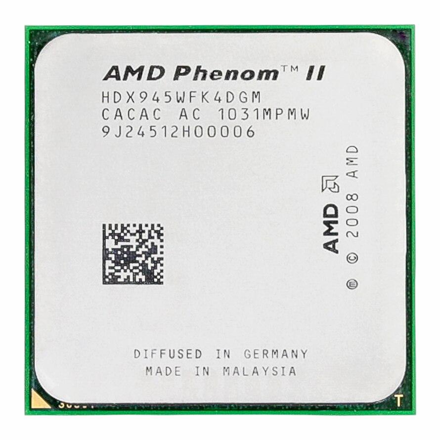 Amd phenom ii x4 945 processador quad-core 3.0 ghz 6 mb l3 cache socket am2 +/am3