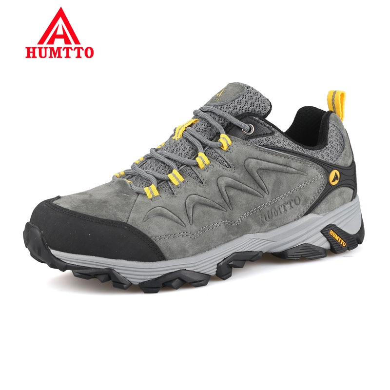 aleader winter warm men hiking trekking boots men outdoor walking shoes genuine leather climbing sneakers jogging shoes with fur Promotion Winter Genuine Leather Hiking Shoes Lightwei Outdoor Trekking Boots Lace-up Climbing Mens Sneakers Men Male Walking