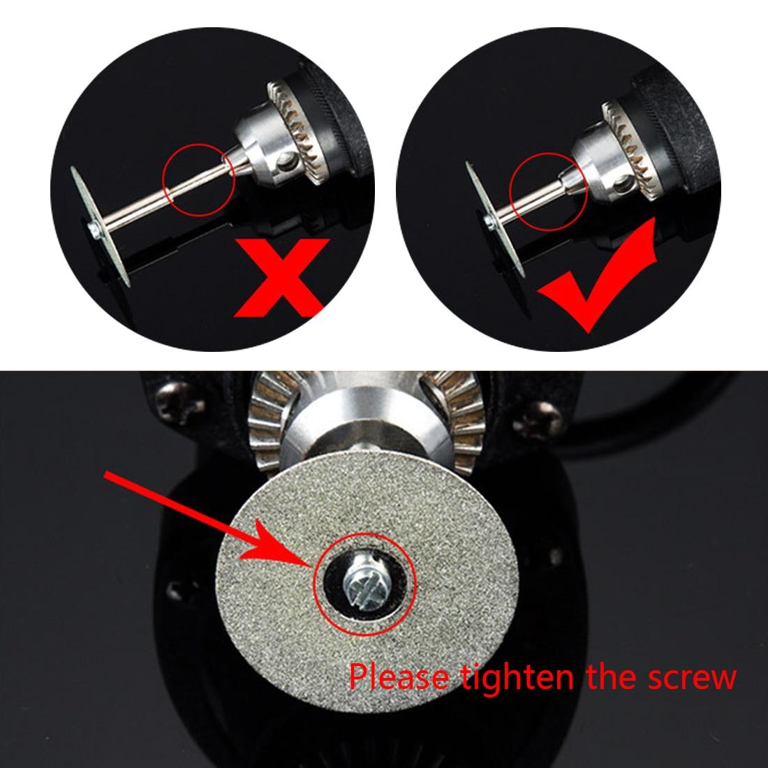 """""""Dremel"""" mini pjovimo diskas, rotacinis deimantinis šlifavimo - Abrazyviniai įrankiai - Nuotrauka 3"""