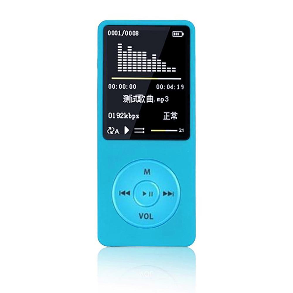 70 uur lange speelduur MP4 lossless muziekspeler FM recorder e-book browser tf-kaart uitbreiding tot 128 GB #10