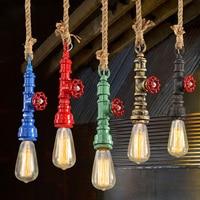 Loft American retro pendant lamp pendant industrial style single head Restaurant