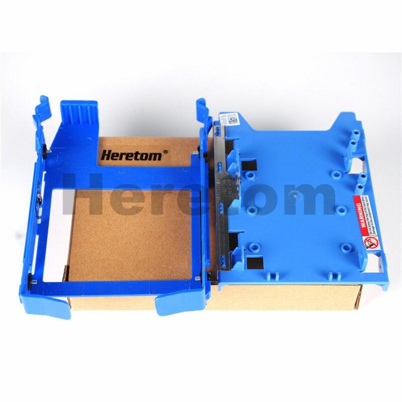 "Bandeja adaptadora de 2,5 ""R494D + 3,5"" HDD bandeja Caddy DN8MY para Dell Optiplex 380 580 980 precisión T5500 T5810 T7500"