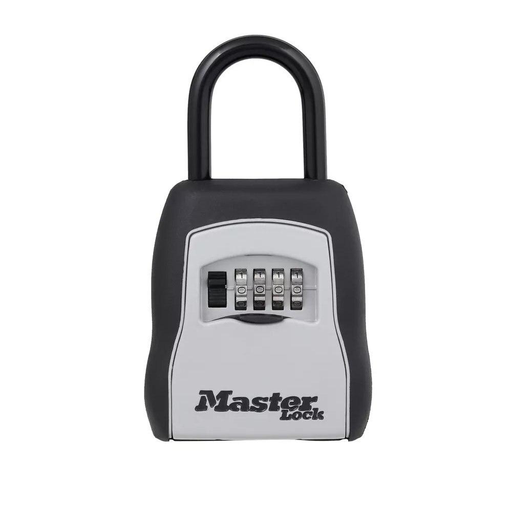 master lock 5400d definir sua propria combinacao portatil caixa de bloqueio 5 capacidade chave preto