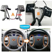 For Geely Emgrand 7 EC7 EC715 EC718,EC7-RV EC715-RV,Car steering wheel multi-function remote buttons,CD audio volume channel