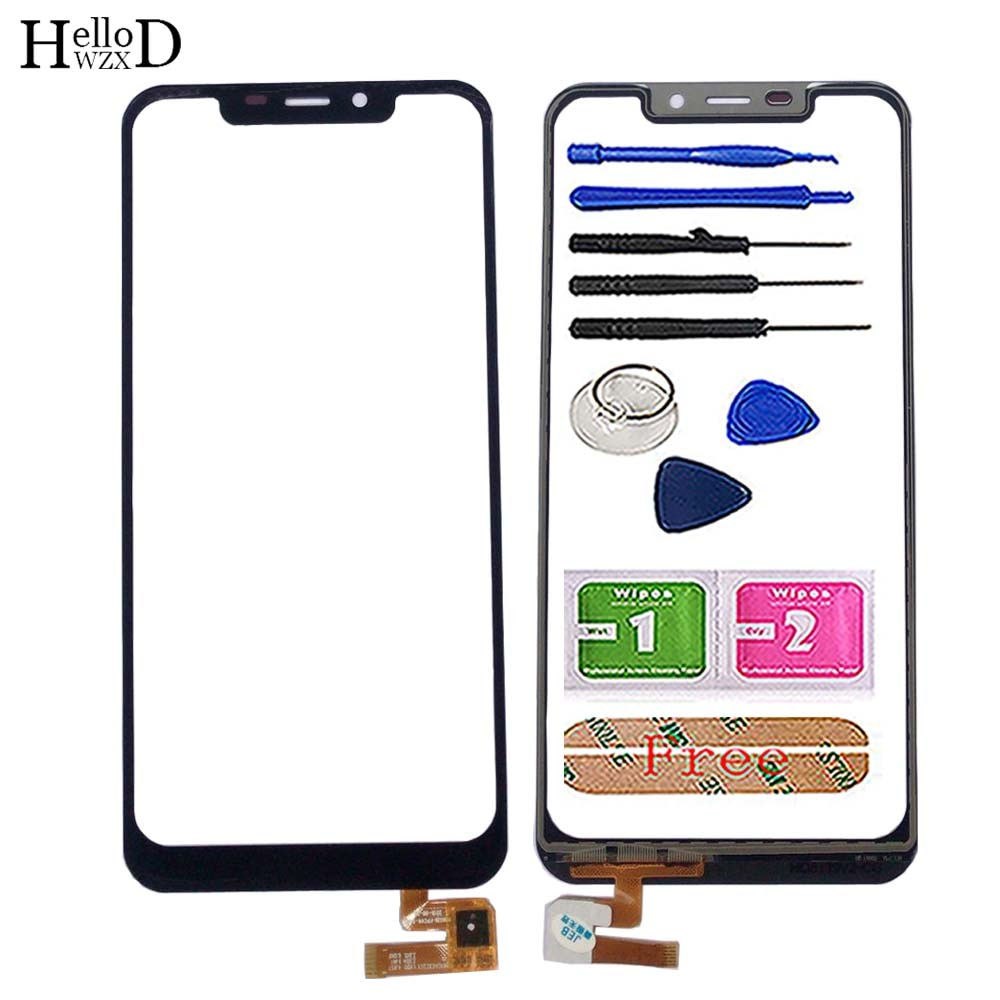 Touch Screen Glass For Oukitel C12 / C12 PRO Touch Screen Panel Digitizer Front Glass Lens Sensor Mo