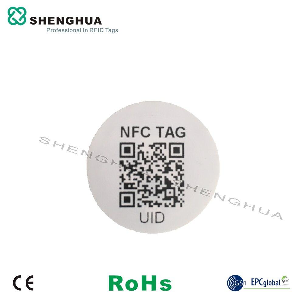 RFID-télécommande contrôle daccès téléphone portable   2000 pièces, bon marché, 13.56MHz, télécommande, étiquette URL Plus, UID TID encodage QR, impression de Code pour téléphone portable