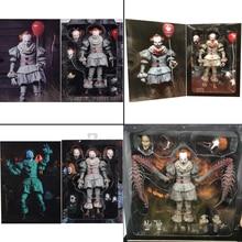 NECA It Pennywise Figure Joker Figure Pennywise figurines daction Neca jouet poupée horreur Halloween cadeau 7 pouces 18cm