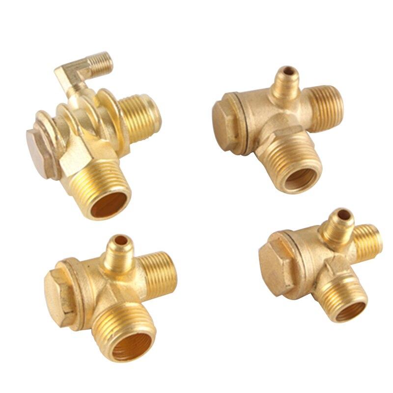 Соединительный клапан для проверки труб из сплава/чистой меди, инструмент для воздушного компрессора, безмасляный воздушный компрессор/обратный клапан