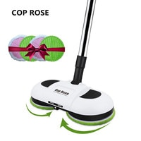 Cop Rose Original Electric Mop Wireless Handheld Wiper Washers Wet Mopping Robot Floor Mop Machine with LED Light Women Gift