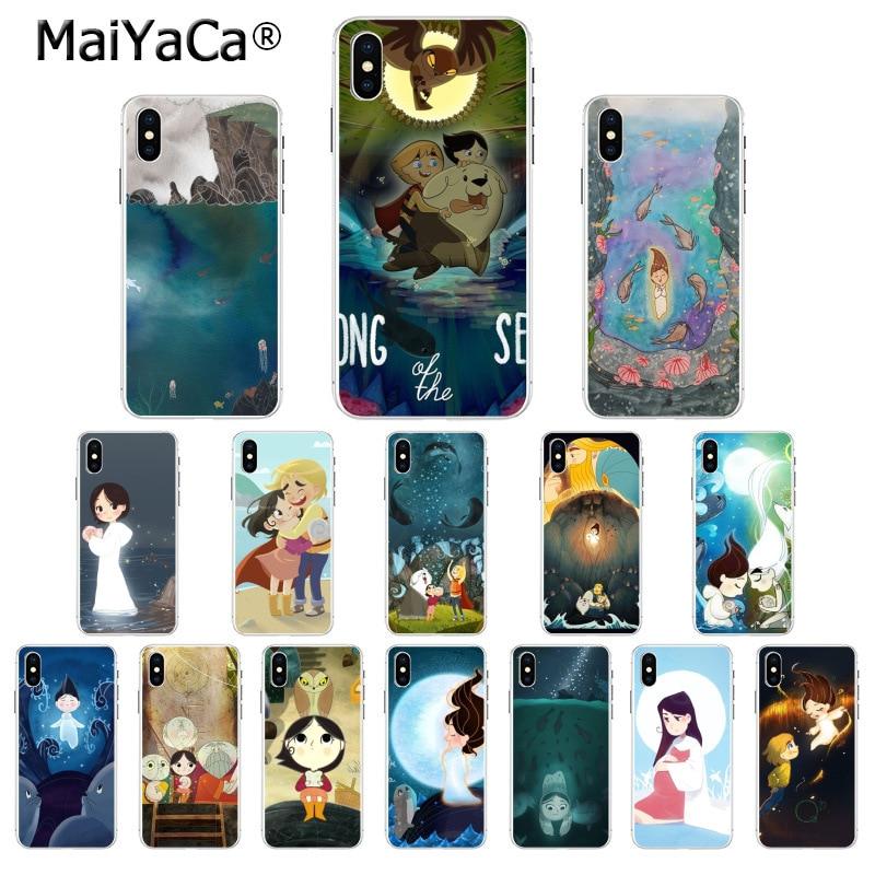 Carcasa MaiYaCa de alta calidad para iPhone 8 7 6 6S Plus 5 5S SE XR X XS MAX Coque Shell