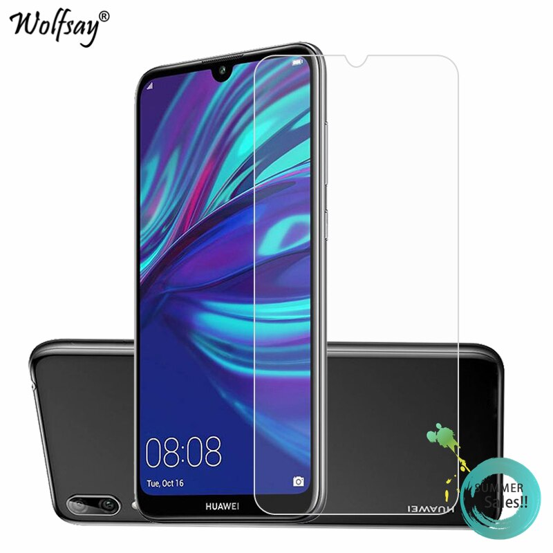 2PCS 9H Glass Huawei Y7 2019 Screen Protector Tempered Glass For Huawei Y7 2019 Glass Phone Film Huawei Y7 2019 Protective Film