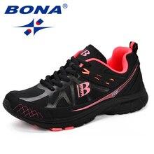 BONA, nuevos zapatos clásicos para correr para Mujer, Zapatillas transpirables para Mujer, Zapatillas deportivas para Mujer, Zapatillas deportivas para Mujer