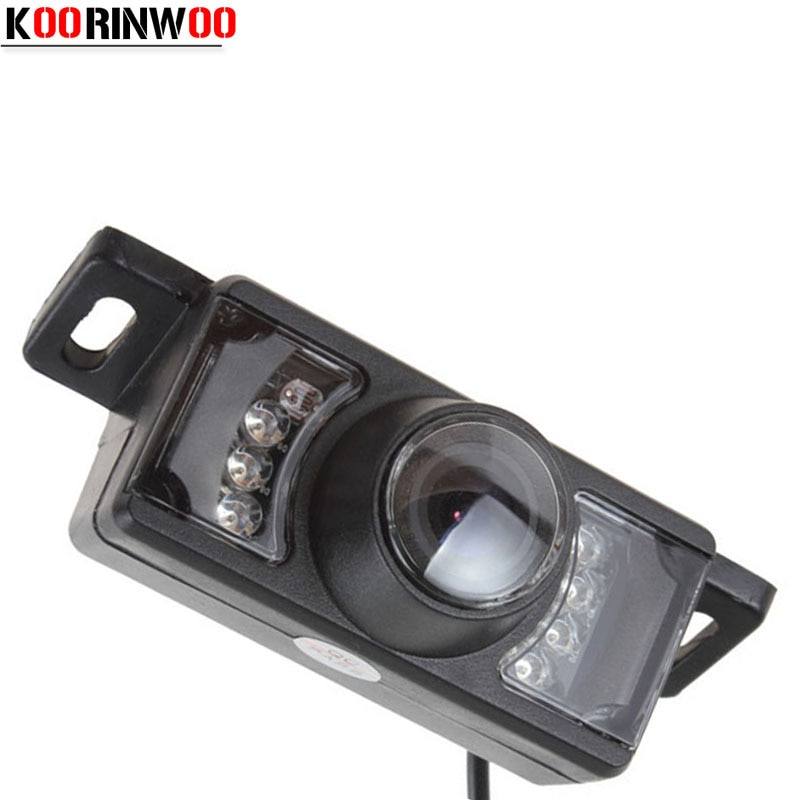 Koorinwoo Car parking camera Front Form Cam 7 Ir Ights Form Automobiles HD CCD Car Rear view Camera Video system car-detector