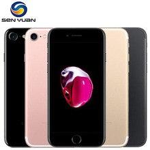 Teléfono móvil Original Apple iPhone 7 Quad Core 4,7 pulgadas 12.0MP Cámara 4G LTE Huella digital Touch ID usado