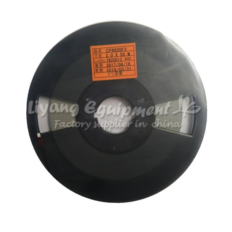 Cinta de reparación de PCB ACF CP6920F3 1,5/2,0 MM * 50 M última fecha para cable flexible de prensa en caliente de pulso uso de la máquina