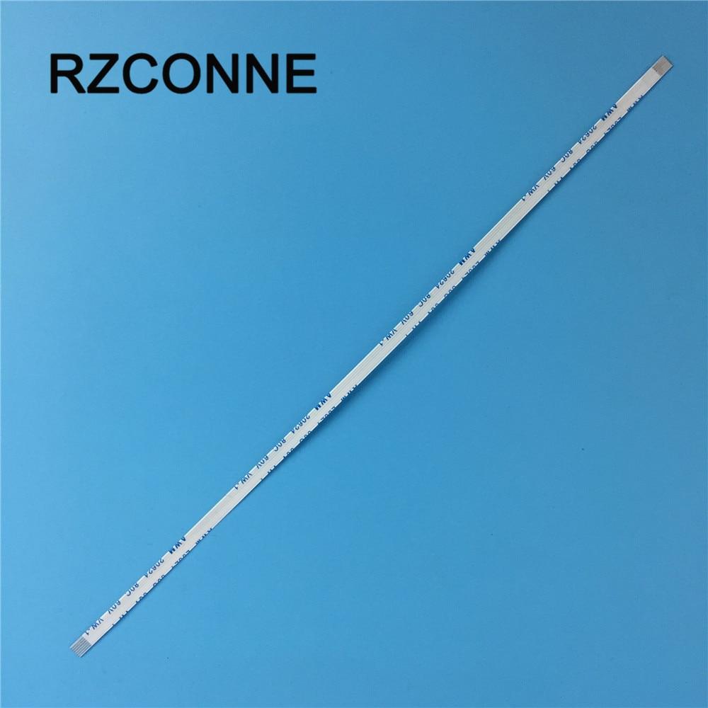 5 uds adelante DIRECCIÓN DE 6 pines FFC FPC Flexible Cable plano paso 0,5mm longitud 100mm/200mm/250mm/400mm/500mm