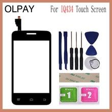 OLPAY 3.5 pour Fly IQ434 IQ 434 écran tactile numériseur panneau pièces de réparation écran tactile avant verre lentille capteur
