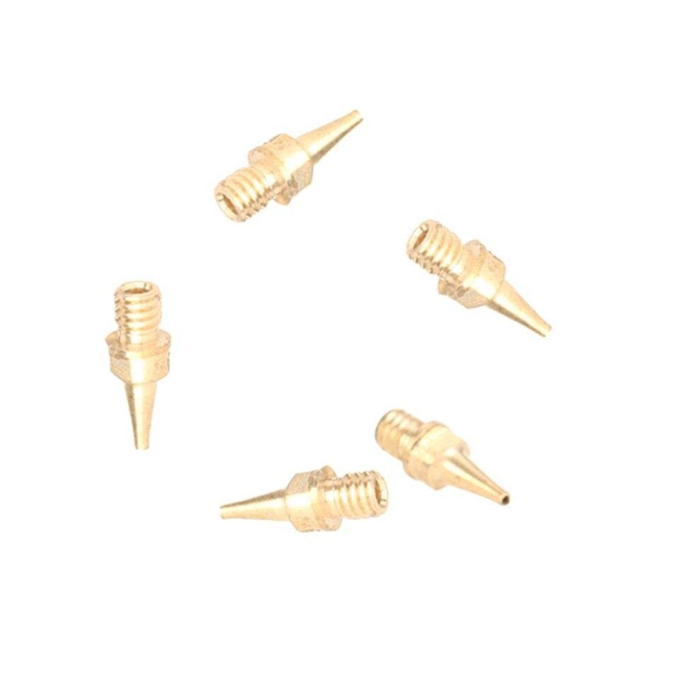 JOYSTAR 5 uds boquilla-130-0,3 AB airbrush repuestos accesorios boquilla 0,3mm 5NOZZLE-130-0.3