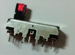 Potenciómetro deslizante 3 centímetros 100KB * 2 con luz con punto medio envío gratis