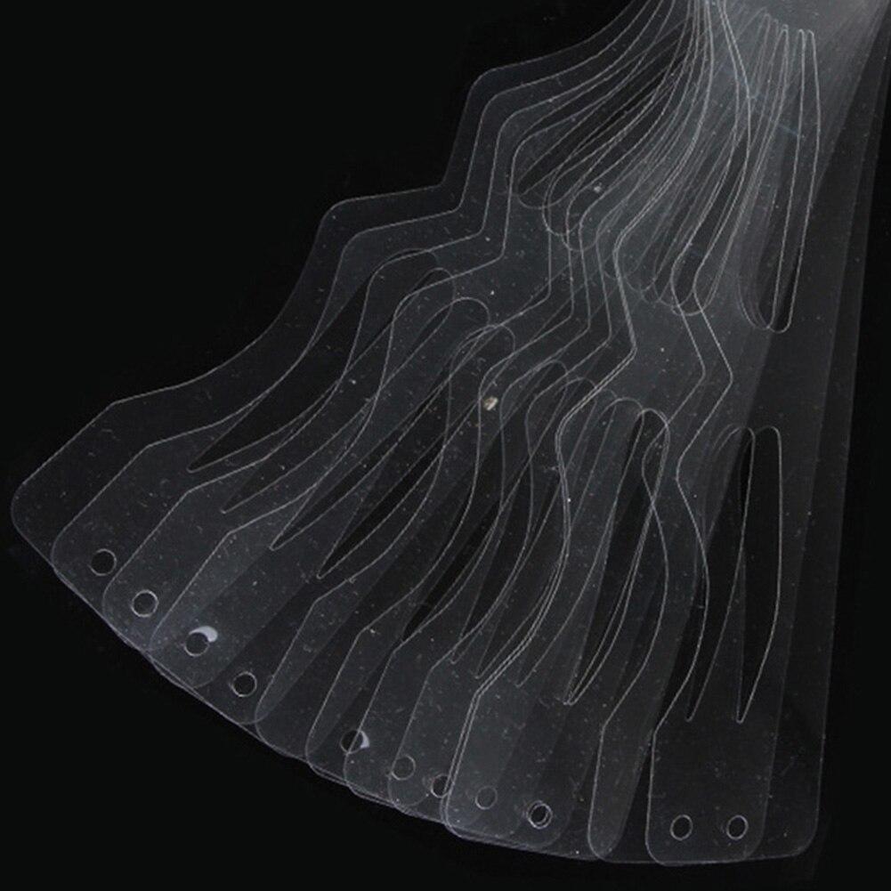 Линейные модели подводки для глаз трафареты бровей вспомогательные инструменты