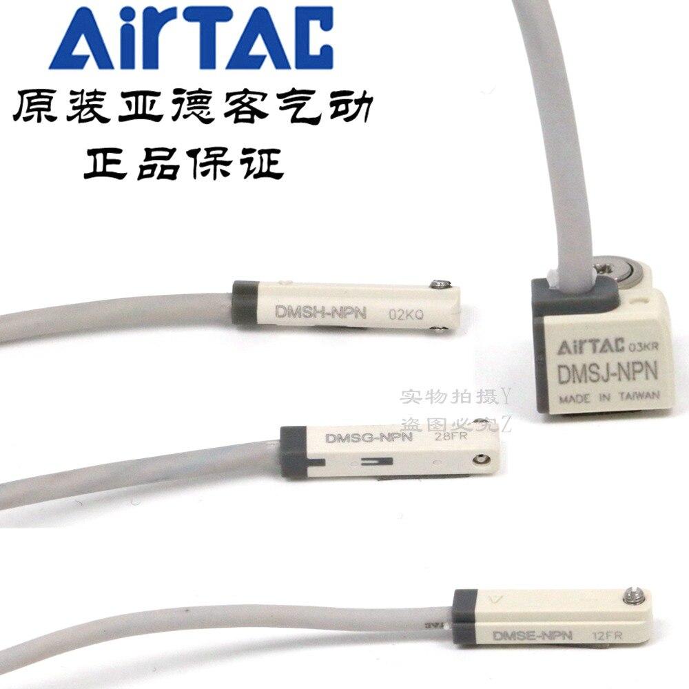 DMSE-N020 DMSH-N020 DMSG-N020 DMSJ-N020 AirTAC NPN Sensor de Interruptor Magnético 100% Original & New