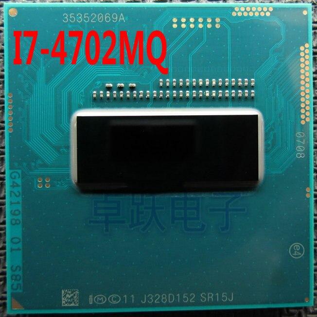 Intel I7-4702MQ SR15J I7 4702MQ SR15J 2.2G-3.2G/M 37 6 W Frete grátis
