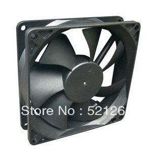 Ventilador de CA axial 120x120x25 ventilador refrigerador 120*120*25 potencia genuina 12025 12V 0.25A ventilador del radiador