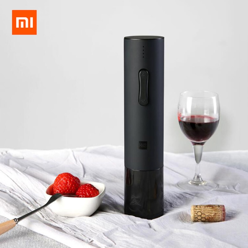Xiaomi автоматическая открывалка для бутылок красного вина набор стопор графин пробка Электрический штопор фольга резак Пробка инструмент