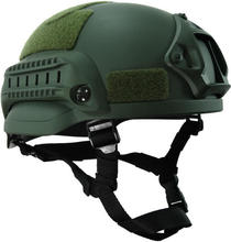 Militar tactical capacete de combate mich 2002 nvg montar & side ferroviário para o jogo campo airsoft capacete tático