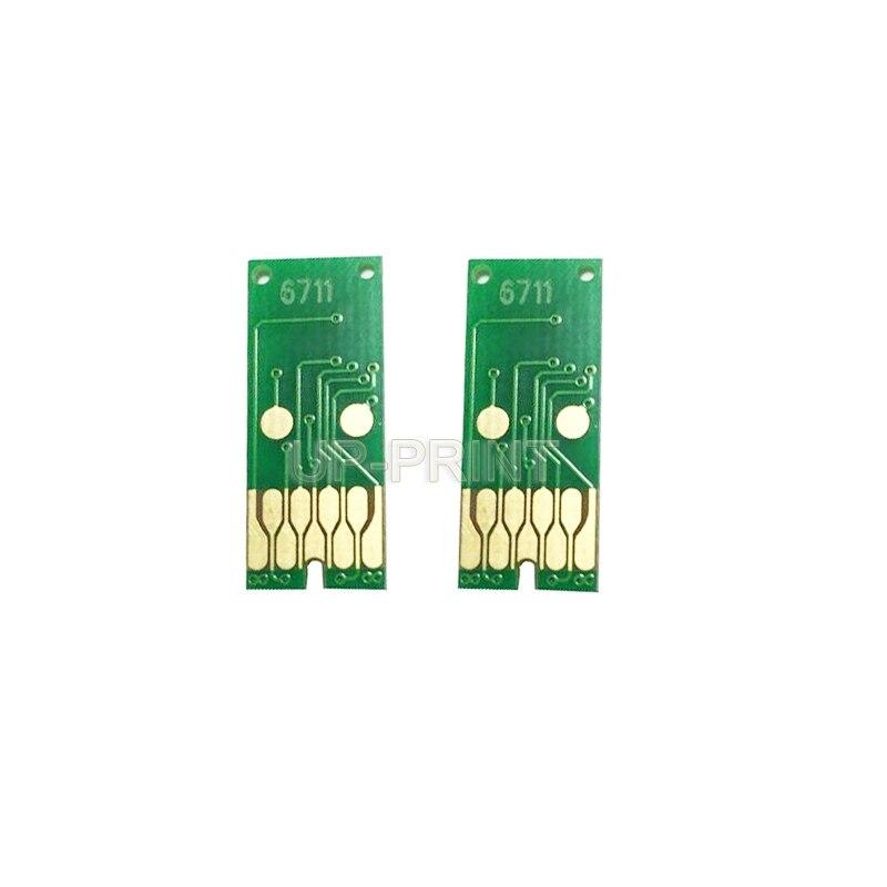 До 5x T6711 отходы обслуживания чернил бак чип совместимый для EPSON Pro WF 3720 WF 3725 WF 7710 WF 7720 WF 7725 WF принтер