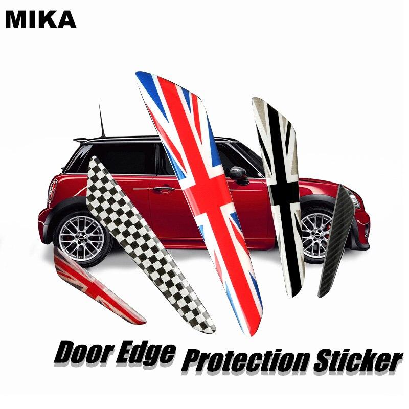 Pegatinas universales para coche, tira de parachoques de puerta, pegatina protectora para BMW MINI COOPER F55 F56 F60 R50 F60 R55, todas las series, etc. Para Audi