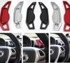 Accessoire de voiture en alliage d'aluminium pour boîte de vitesses à palette intelligente mercedes-benz style chromé TTCR-II