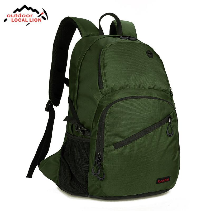 LOCAL LION Travel Backpack Outdoor Hiking Camping Bag Luggage Rucksack Men Women Backpack Sports Bag Cycling Climbing Rucksack