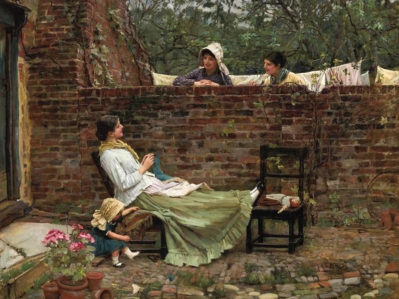 Нео Классическая изобразительная картина холст Портрет постер красота фотография гигантская картина дома Современное искусство сплетни, C...