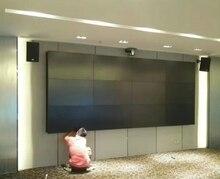 3x4 4x3,5mm bisel mosaico tft lcd full HD 1920*1080 Pantalla de panel monitor PC control pared de vídeo para el estudio tramposo Hotel hall