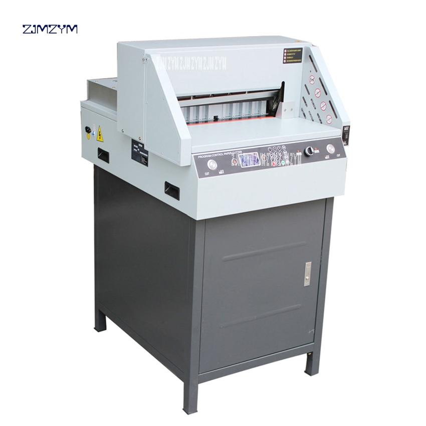 cortador de papel eletrico digital e460r automatica guilhotina de corte largura 460