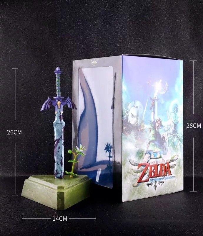 Zelda Atem der Wilden Skyward Sword link Master Schwert Action figure Spiel Spielzeug Figurine Sammeln Juguetes Puppe Anime Figma