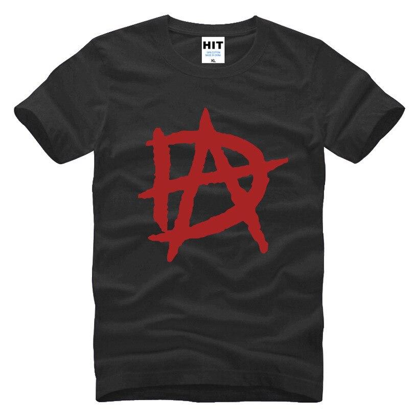 Camiseta con LOGO de DA para Hombre, camisa de manga corta con...