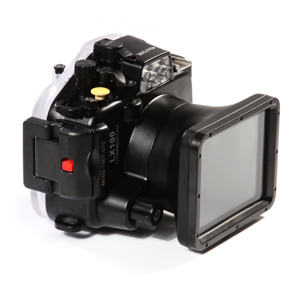 Meikon LX100 40 м 130 футов Водонепроницаемый подводный корпус камера Дайвинг чехол для Panasonic DMC-LX100 24-75 мм