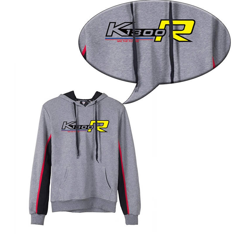KODASKIN Men K1300R Cotton Round Neck Casual Printing Sweater Sweatershirt Hoodies